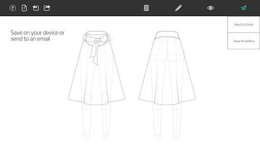 Fashion Design Flat Sketch 1.0 Screenshots 10