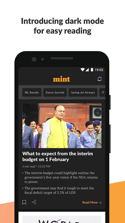 Mint : Business & Stock Market News  poster 2