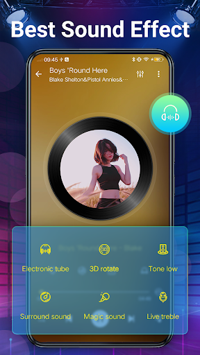 Music Player - Bass Booster & Free Music android2mod screenshots 6