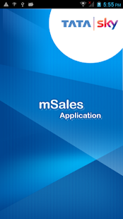 mSales Screenshot