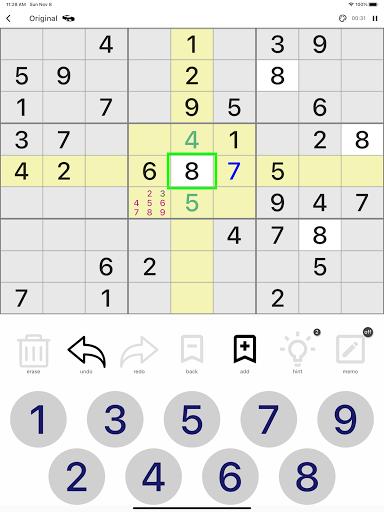 All Sudoku - 5 kinds of sudoku puzzle in one app screenshots 10