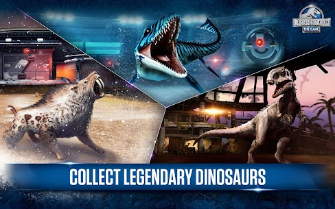 Jurassic World : The Game APK Download 11