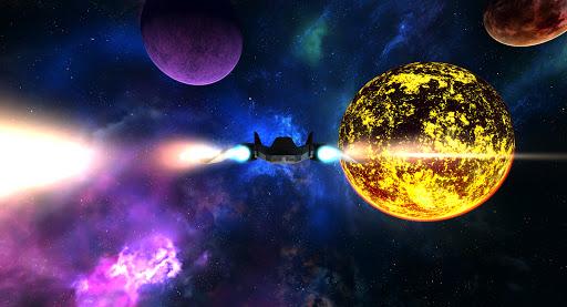 VR Space Spaceship Virtual Reality Roller Coaster  screenshots 6