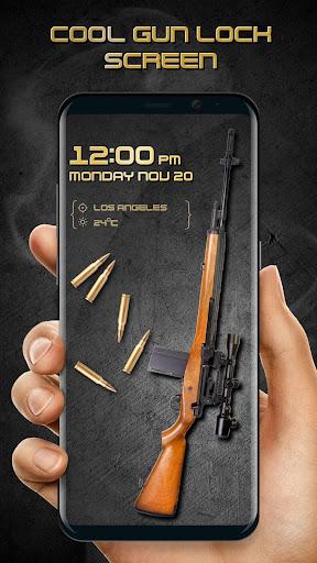 Gun shooting lock screen Apk 1
