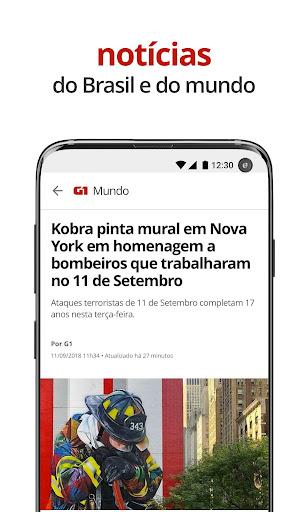 G1 u2013 O Portal de Notu00edcias da Globo 5.1.10 Screenshots 5