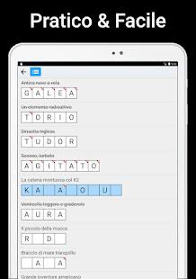 Cruciverba - parole crociate autodefinite 1.1.9 Screenshots 22