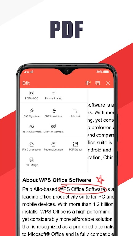 WPS Office - Free Office Suite for Word,PDF,Excel  poster 3