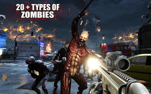des morts-vivants frontière mort tueur zombi tirer APK MOD – Pièces Illimitées (Astuce) screenshots hack proof 2