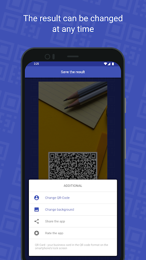 QR Card - business card hack tool
