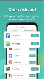 Virtual Android – Multiple Accounts|ParallelSpace 2