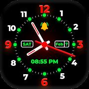 Smart watch wallpapers Free : Night Watch Time App