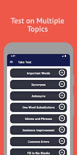 English Vocabulary Test