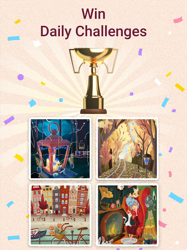 Art Puzzle - Jigsaw Game with Color Pictures  Screenshots 11