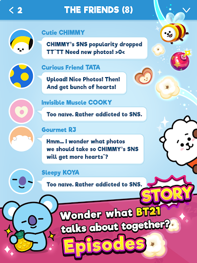 BT21 POP STAR modavailable screenshots 11