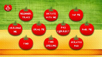 Spelling Game - Fruit Vegetable Spelling learning