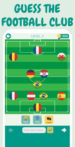 Guess The Football Team - Football Quiz 2022 1.22 screenshots 4