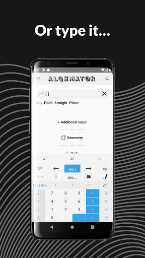 Algemator  screen 1
