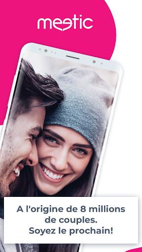 Meetic – Amour et rencontre entre célibataires  screenshots 1