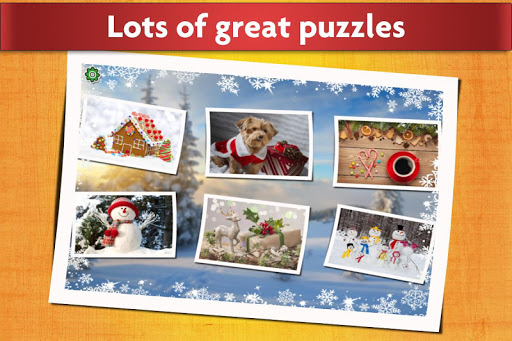 Christmas Jigsaw Puzzles Game - Kids & Adults ud83cudf84 screenshots 2