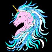 Unicorn Glitter Coloring