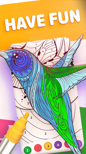 Magic Color by Number: Free Coloring game 1.6.5 screenshots 8