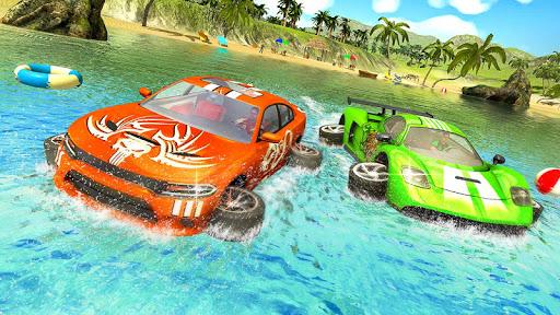Water Surfer car Floating Beach Drive  screenshots 3