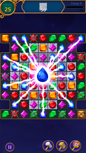Jewels Magic: Mystery Match3 screenshots 10