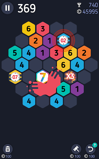 Make7! Hexa Puzzle  screenshots 4