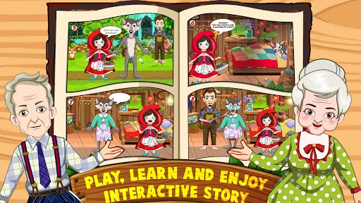 Mini Town: Red Riding Hood Fairy Tale Kids Games 2.3 screenshots 4