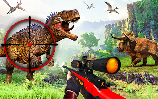 Wild Dinosaur Hunting Games: Animal Hunting Games  screenshots 3