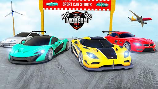 Mega Ramp Car Racing Stunts 3D : Stunt Car Games android2mod screenshots 5