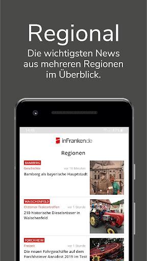 inFranken.de - lokale News & Informationen 3.3.5 screenshots 2
