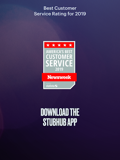 StubHub - Live Event Tickets modavailable screenshots 19