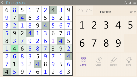Sudoku classic 8