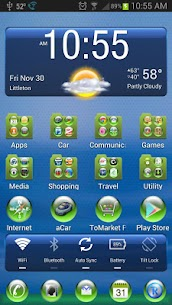 LC Green Sphere Theme For Pc (Windows 7, 8, 10 And Mac) Free Download 1