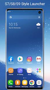 S7/S8/S9 Launcher for Galaxy S/A/J/C, S9 theme MOD (Premium) 1