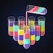 Water Sort Jigsaw:色水並べ替えの色合わせパズル・コップに水を入れるゲーム