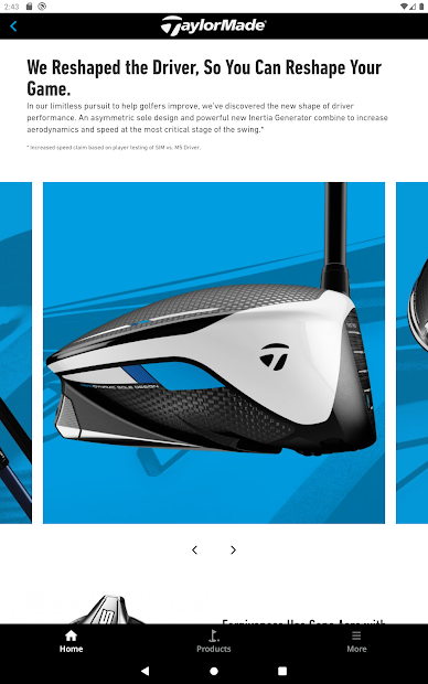 TaylorMade Golf Product Guide screenshot 4