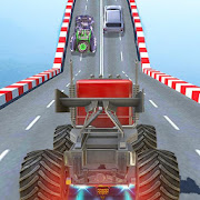 Impossible Monster Stunts: Car Driving Games