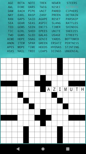 Classic Drag-n-Drop Crossword Fill-Ins 1.21 screenshots 3