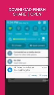 GIF   Video   Tweet Downloader Pro Cracked APK 4