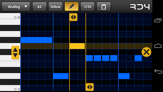 RD4 Groovebox Screenshot
