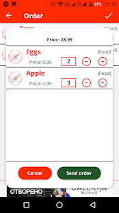 Waitron: Easy and fast ordering of food and drinks