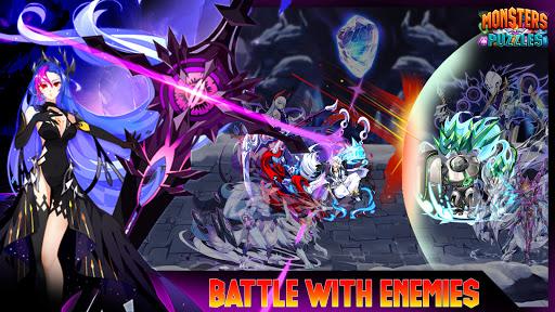 Monsters & Puzzles: Battle of God, New Match 3 RPG 1.18 screenshots 1