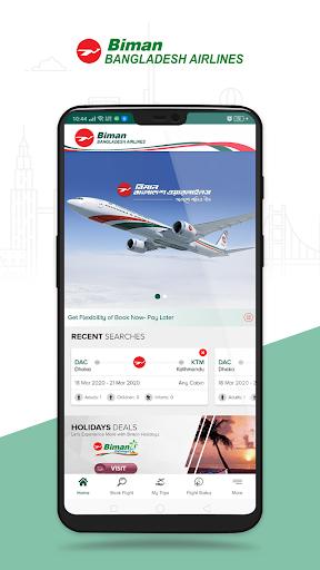 Biman Bangladesh Airlines 6.1.1 screenshots 1