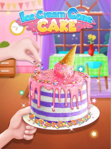 Ice Cream Cone Cake - Sweet Trendy Desserts screenshots 4