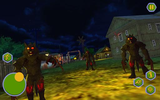 Werewolf Games : Bigfoot Monster Hunting in Forest 1.1 screenshots 8