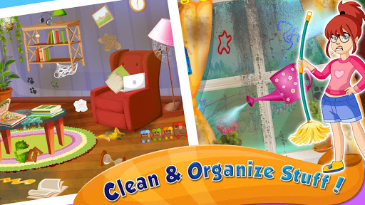 Girl House Cleaning: Messy Home Cleanup screenshots 2