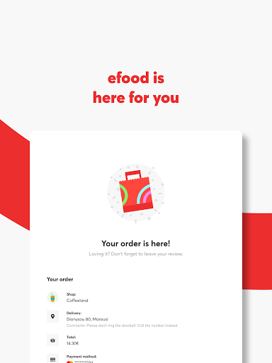 efood delivery 4.7.1 Screenshots 16
