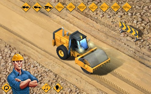 Kids Vehicles: Construction Lite toddler puzzle Screenshot